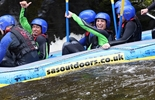 Shrewsbury Town Football Team rafting