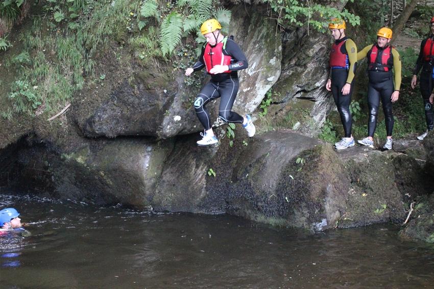 gorge walking wales north activity