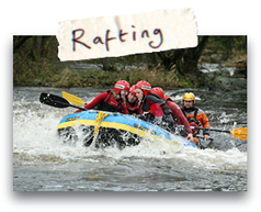 White Water Rafting - North Wales